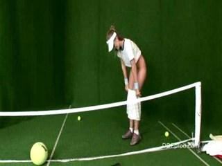 Imposible jugar al tenis con esta zorra
