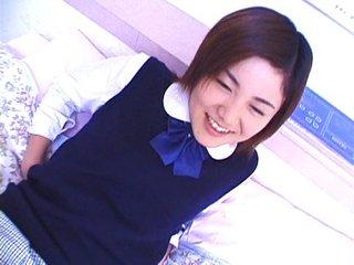 Teen Japonesa con el coño peludo