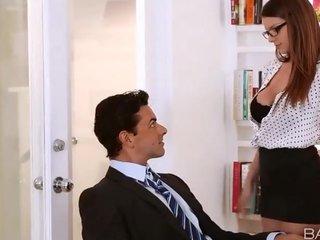 Una visita rapida a mi marido en la oficina