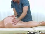 El masaje anal hizo su efecto...